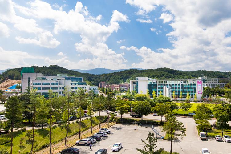 강릉캠퍼스 전경