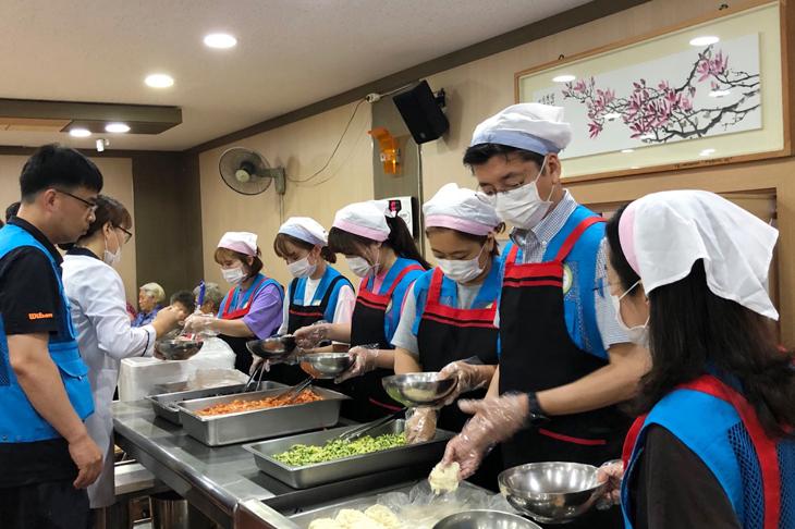 강릉원주대 치과병원 봉사 활동