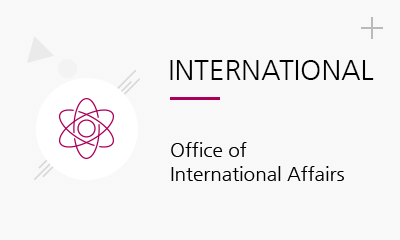 INTERNATIONAL Office of International Affairs